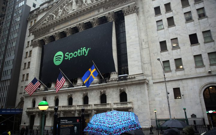 Spotify Stock Struggles On Day 2, Live Nation Rises
