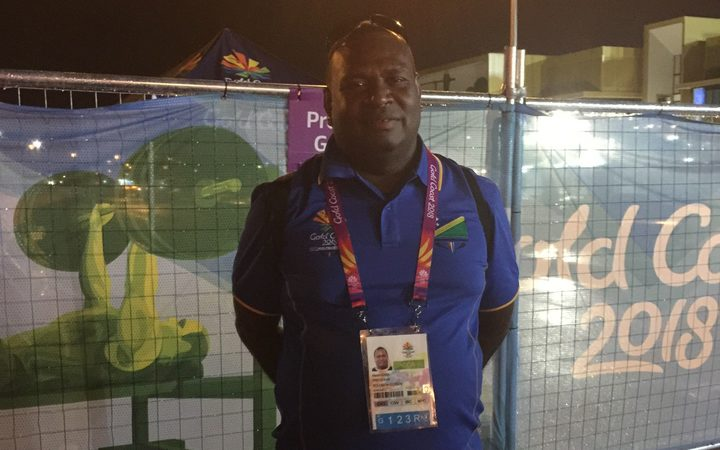 President of the Solomon Islands National Olympic Committee, Martin Rara