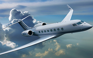 020414. Photo supplied. Image of a Gulfstream G650 jet similar to Sir Peter Jackson's.