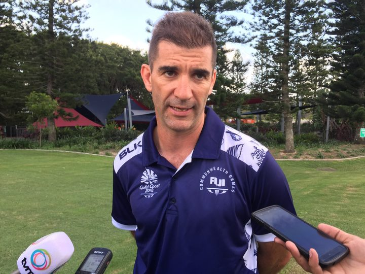 Fiji coach Gareth Baber says his team is not under any extra pressure heading into the Games