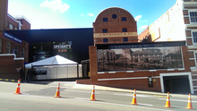 The refurbished Speight's Brewery in central Dunedin