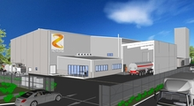 An artist's impression of Z Energy's proposed biofuels plant at Wiri.