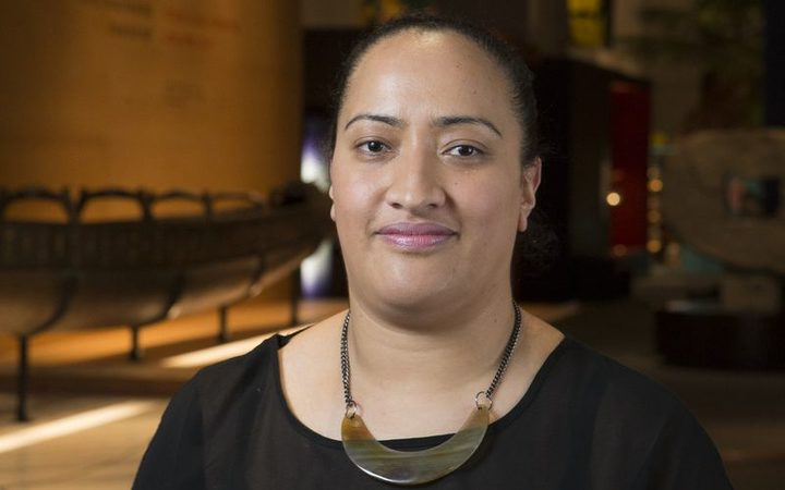 Nina Tonga, curator of Pacific Art at Te Papa.
