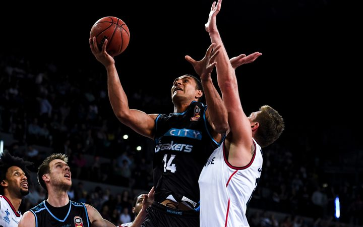 New Zealand Breakers captain Mika Vukona