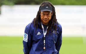 Blues coach Tana Umaga
