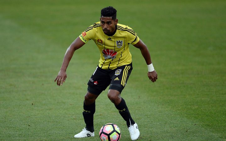 The Wellington Phoenix's Player of the Year Roy Krishna