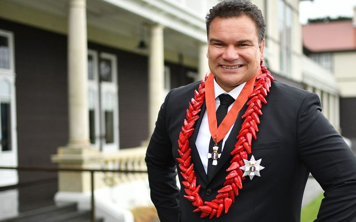 Sir Michael Jones after being Knighted