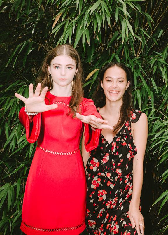 Thomasin Harcourt McKenzie and Erana James for Wellington Woman Mag.