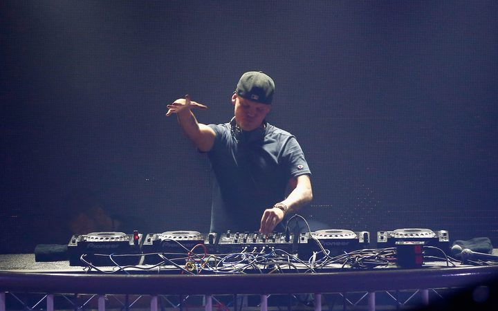 DJ Avicii performing in 2016.