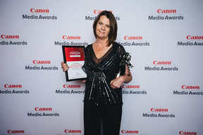 Investigative journalist Donna Chisholm won the Canon Media Award for Outstanding Achievement in 2017.