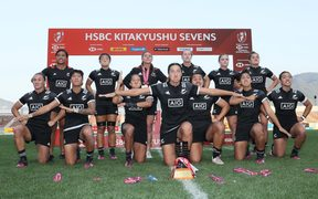New Zealand women's rugby sevens team wins in Japan.