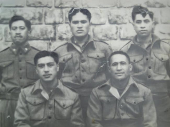 The Waffen SS attempted to get this group of 28th Maori Battalion PoWs to join Nazi Germany. All of them refused.