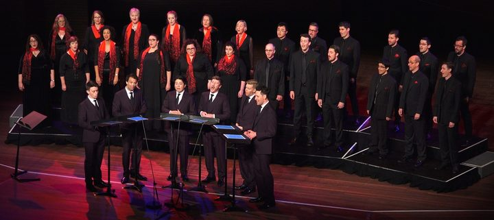 The King's Singers & Voices NZ Chamber Choir