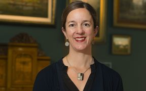 Rebecca Rice, Curator Historical New Zealand Art at Te Papa.