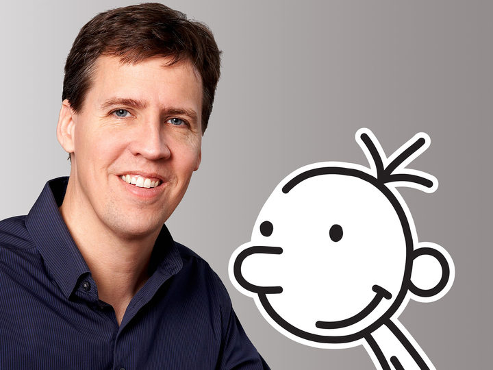 Jeff Kinney and Greg Heffley