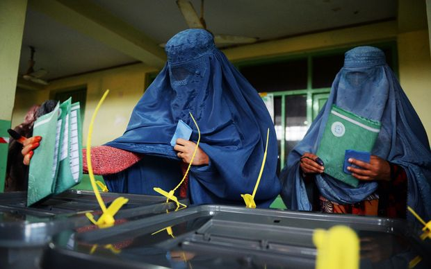More than seven million Afghans voted.