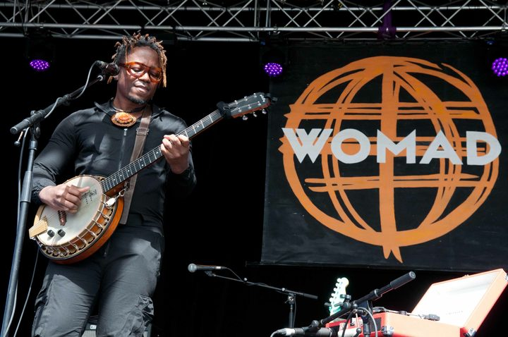 Blick Bassy at Womad 2018