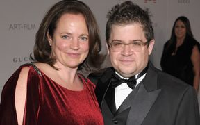 Michelle McNamara and Patton Oswalt in 2011.