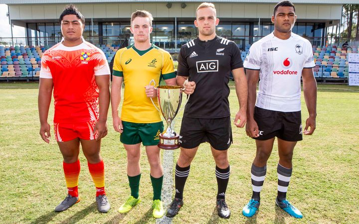 Tonga, New Zealand, Australia and Fiji will contest the Oceania Rugby Under 20s Championship.