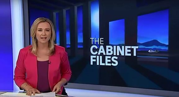 The stray documents inadvertently released in a sale of surplus office furniture proved to be a rich source for ABC News in Australia.