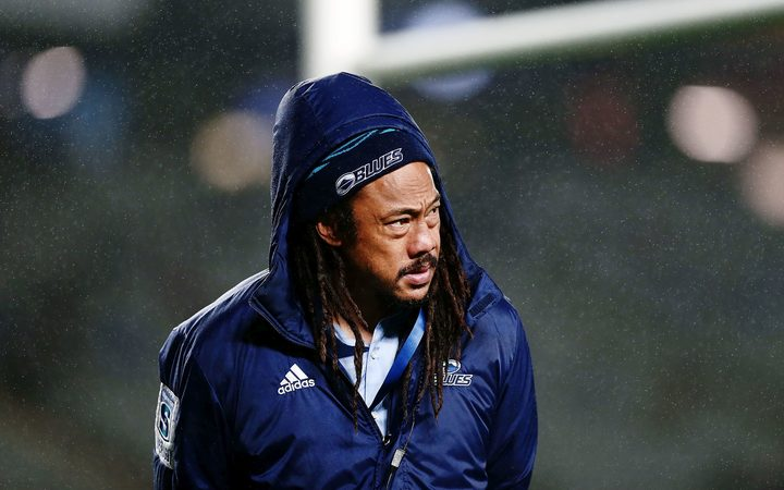 Umaga stands down as Blues head coach, MacDonald takes charge