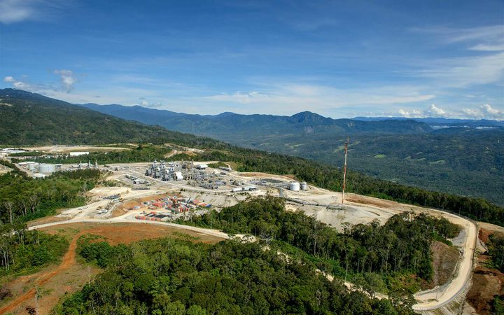 Exxon Mobil PNG's Hides gas conditioning plant