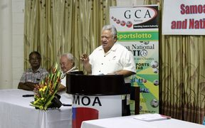 Prime Minister Tuilaepa Sailele Malielegaoi delivered the keynote address.