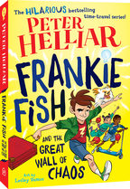 Peter Helliar's Frankie Fish book