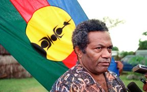 The Kanak independence leader Jean-Marie Tjibaou, who was killed on the New Caledonia island of Ouvea in 1989.