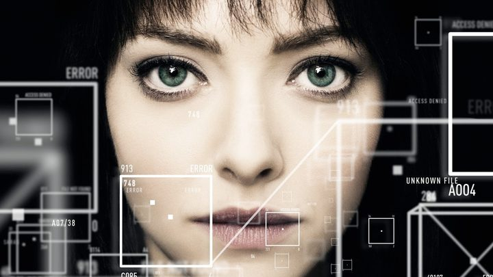 "Amanda Seyfried as the mysterious augmented reality hacker known only as ""The Girl"" in Anon."
