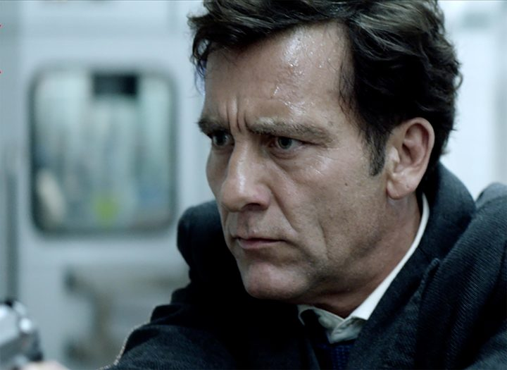 Clive Owen is the damaged cop on a mission in Anon.