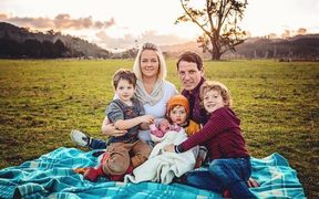 Rochelle Palmer and her family are finding it difficult to deal with the high cost of living in NZ.