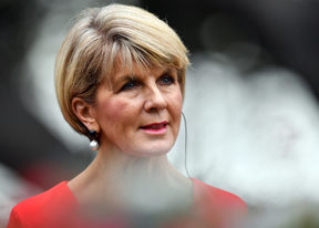 Australian Minister for Foreign Affairs Julie Bishop / AFP PHOTO / SAEED KHAN