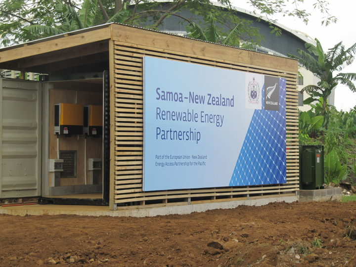 A project launched in Samoa, backed by New Zealand, ahead of the 2014 SIDS conference aimed at using renewable energy sources.