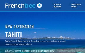 Frenchbee launches Tahiti service