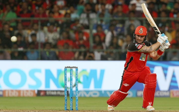 Brendon McCullum of the Royal Challengers Bangalore.