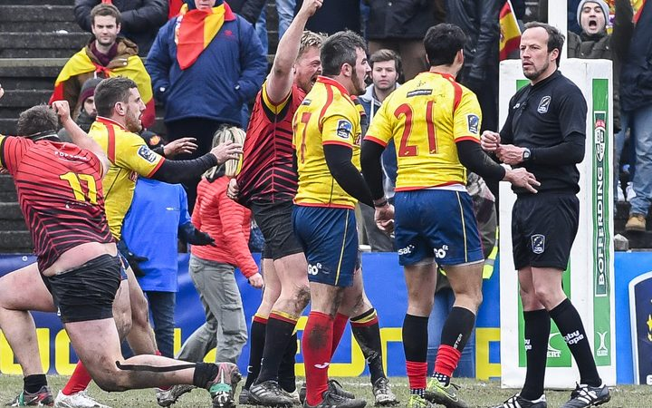 Romania disqualified from Rugby World Cup