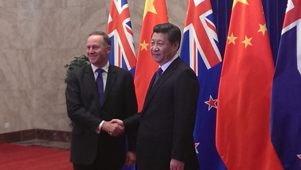 John Key says our relationship with Chinese leaders such as President Xi Jinping is crucial to boosting trade.