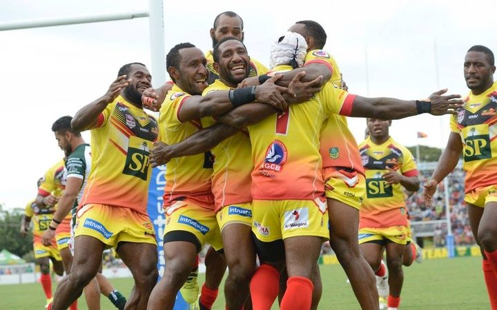 The PNG Hunters are back on home soil.