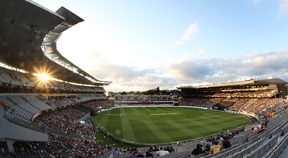 General view of Eden Park.