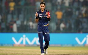 Trent Boult of the Delhi Daredevils.