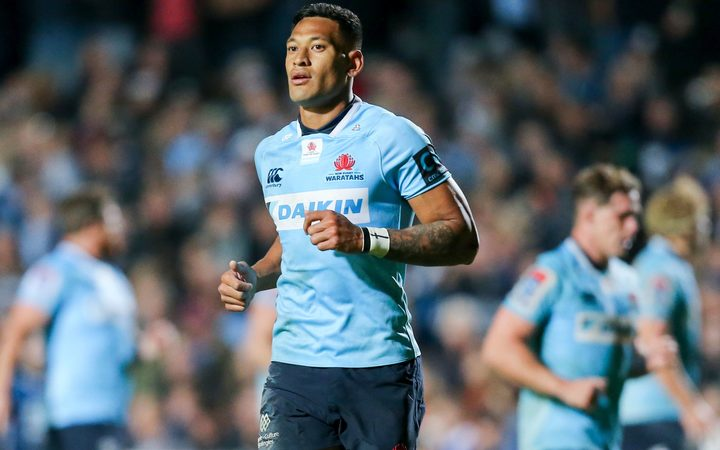 New South Wales Waratahs fullback Israel Folau