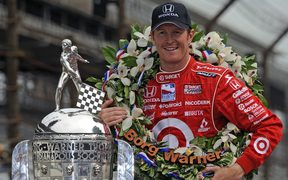 Scott Dixon 2008 Indy 500 winner.