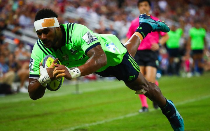 Tevita Nabura of the Highlanders.