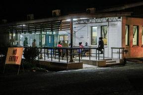 The outpatients area at the National Referral Hospital in Honiara, Solomon Islands.