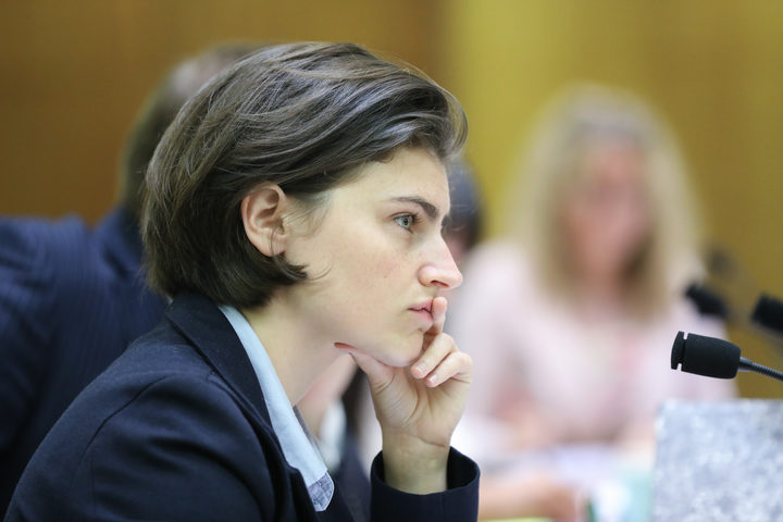 Green MP Chloe Swarbrick in Select Committee