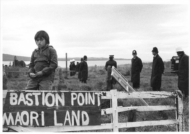May 25th  2018 marks 40 years since the protest ended at Takaparawhau (Bastion Point).