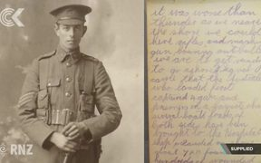 Family's 40 year campaign to retrieve soldier's war diary: RNZ Checkpoint