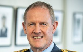New Defence Force chief Air Vice-Marshal Kevin Short.