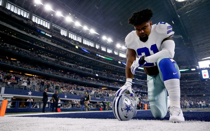 NFL Won't Stand for Players Not Standing During National Anthem